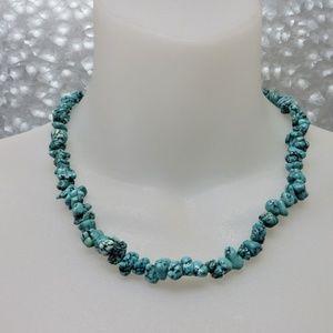 Jewelry - Vintage Genuine Gemstone Bead Statement Necklace